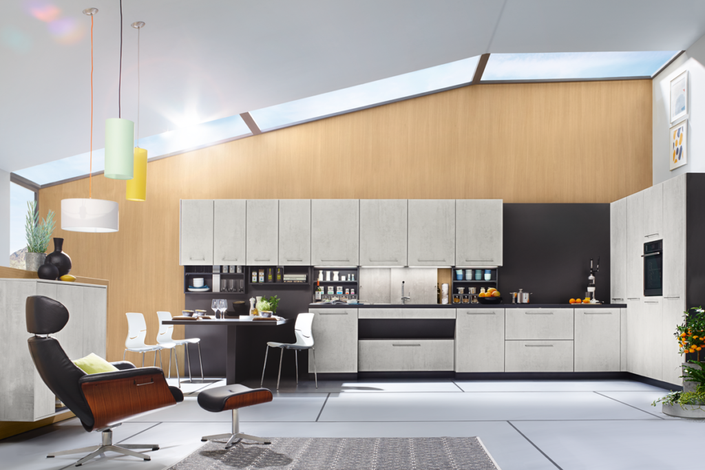 top 1466-convenience kitchen in the Bauhaus style
