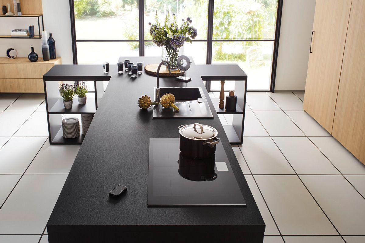 Black kitchen island Top 1496 Kitchen Design