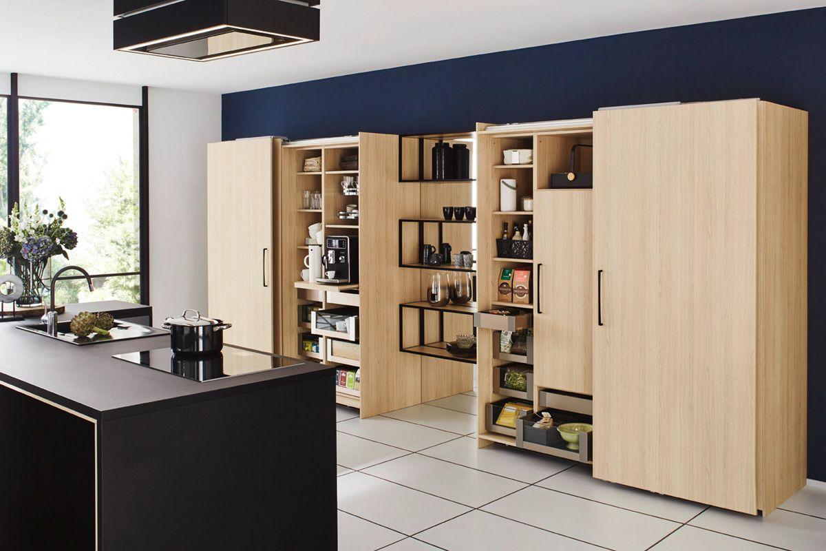 Space saving sliding door Top 1496 Kitchen Design