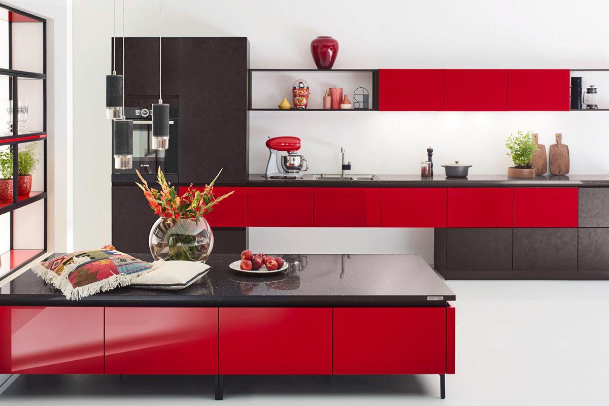 Black & Red Edition 2716 Kitchen Design
