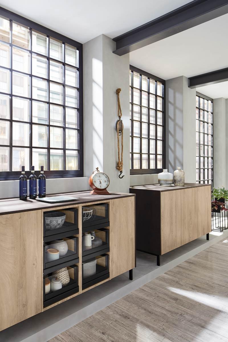 Wood effect Premium 3001 Kitchen Design