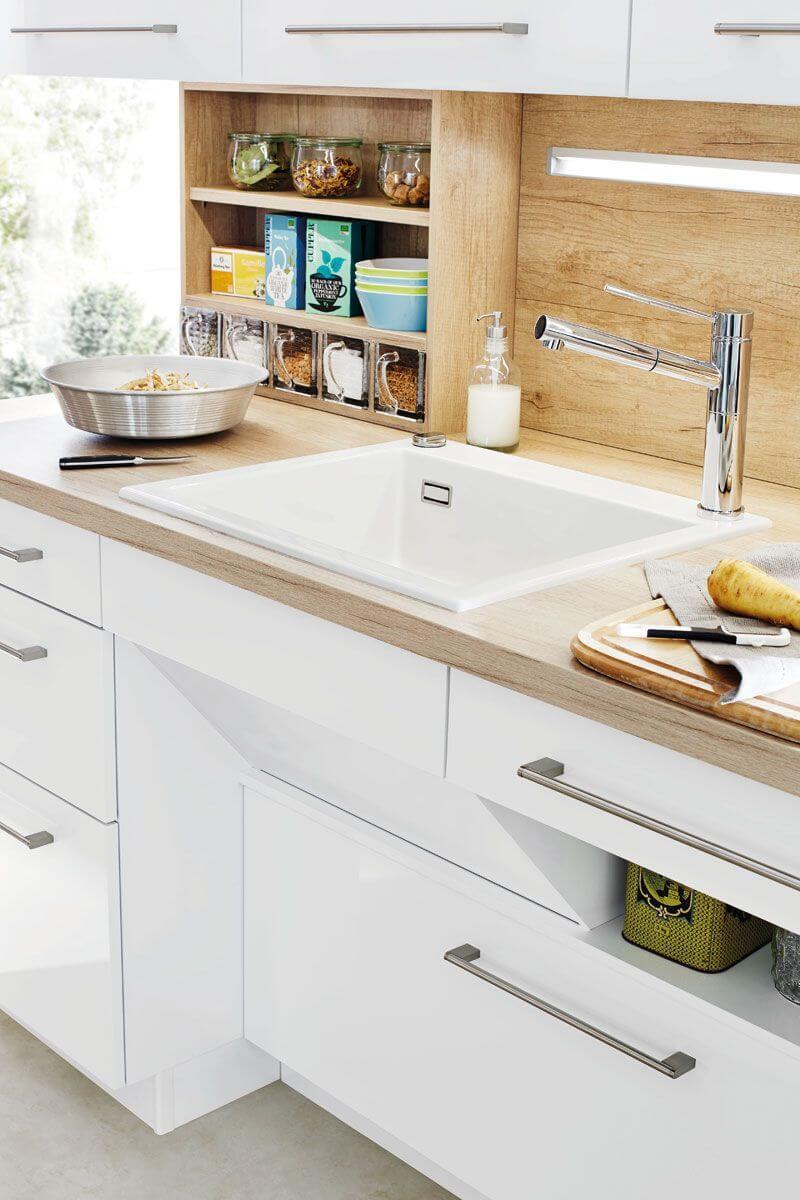 White kitchen drawers Miami 3146 Kitchen Design