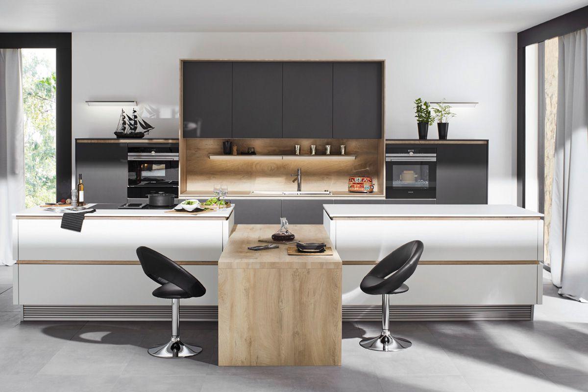 Gray & White Flair S 40095 Kitchen Design