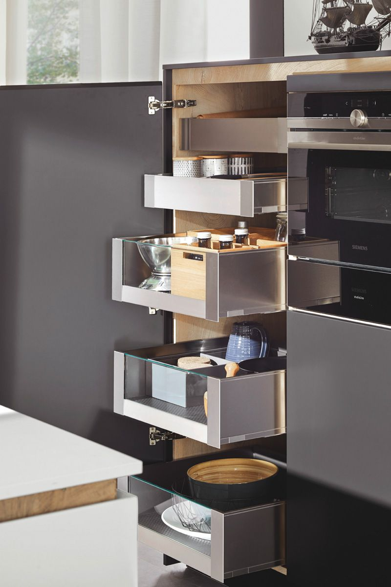 Drawers inside cabinet Flair S 40095 Kitchen Design