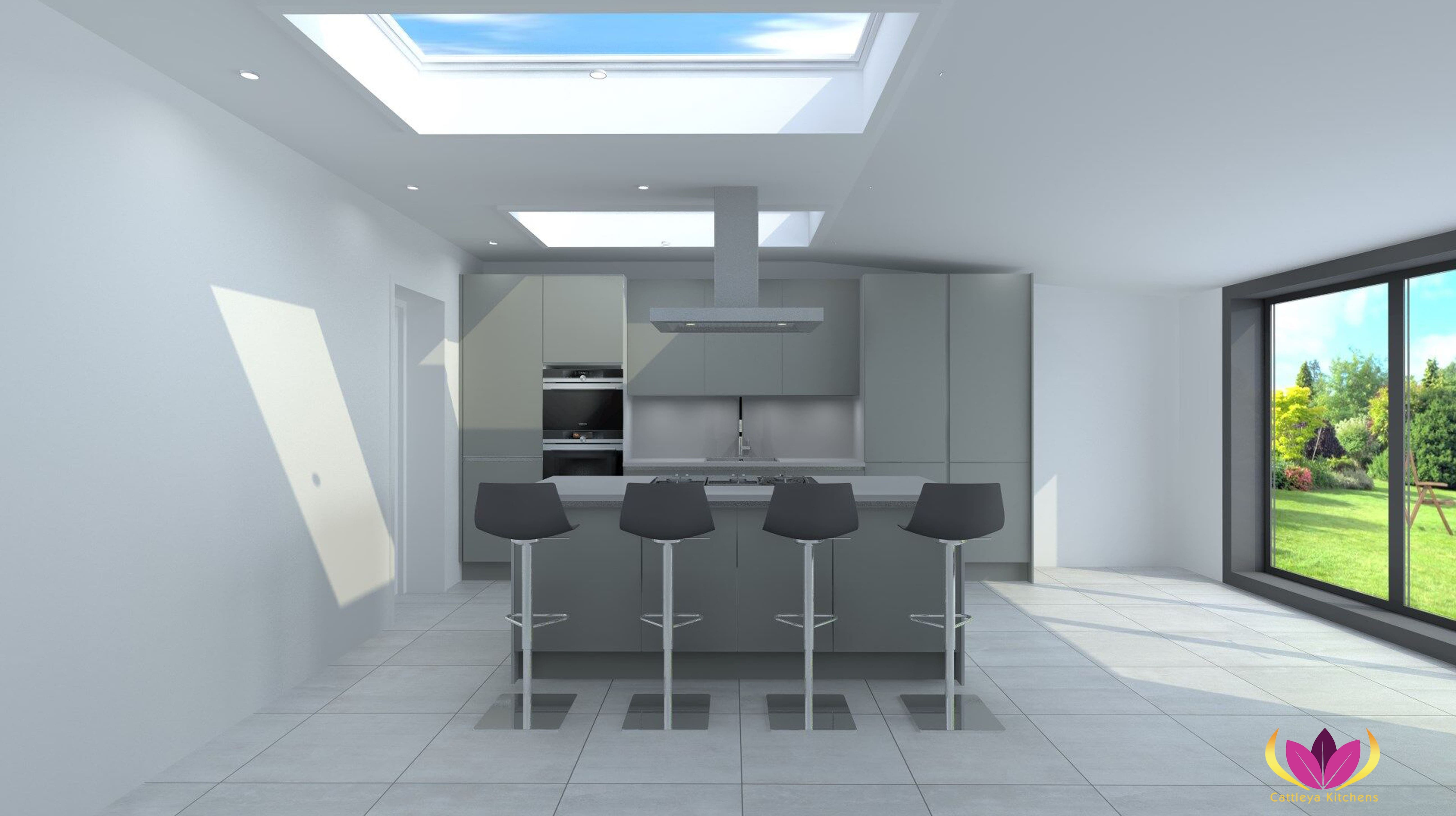 Edgware Finished Project Kitchen Plan