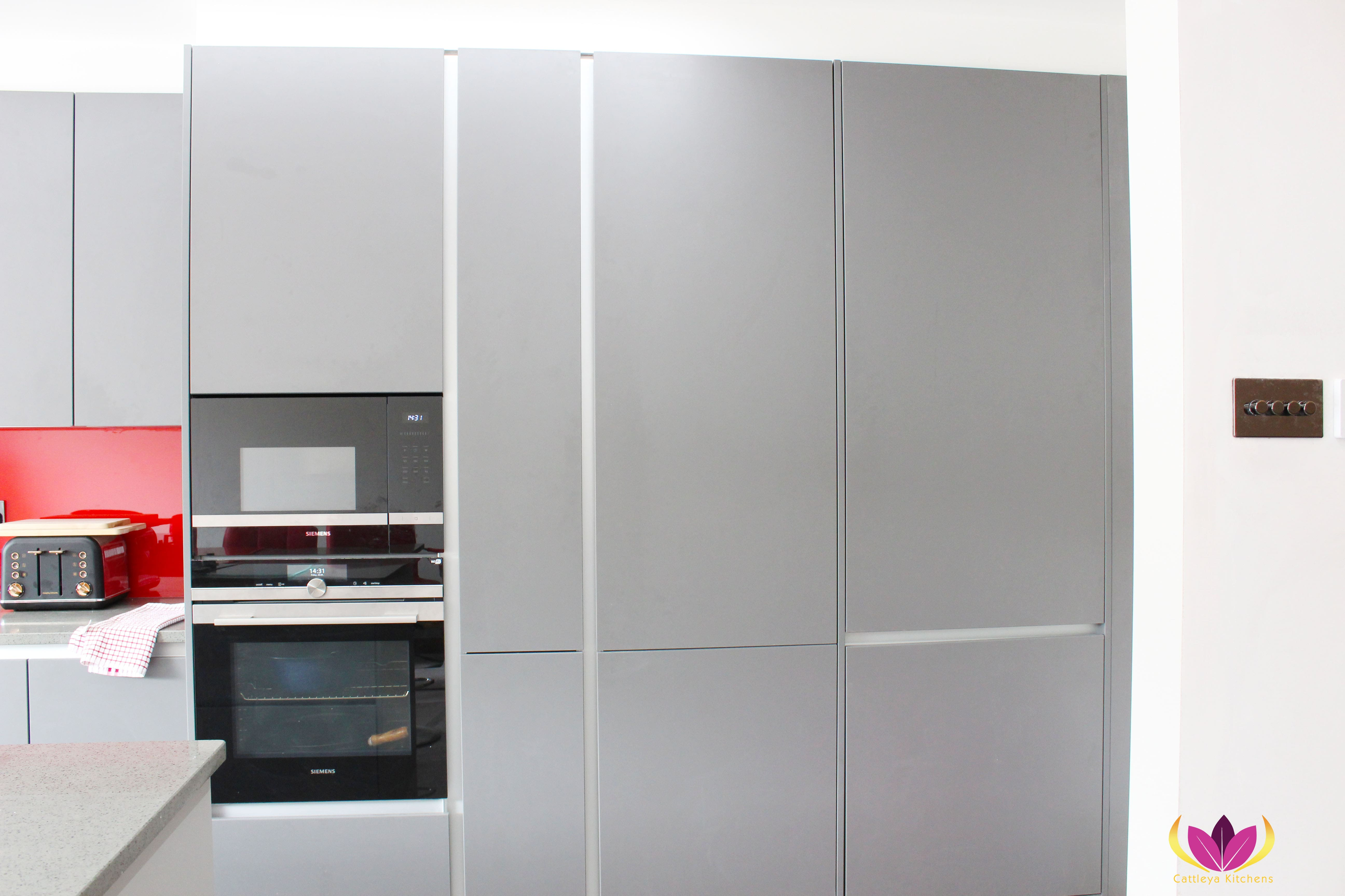 Gray Cabinet Perivale Finished Kitchen Project