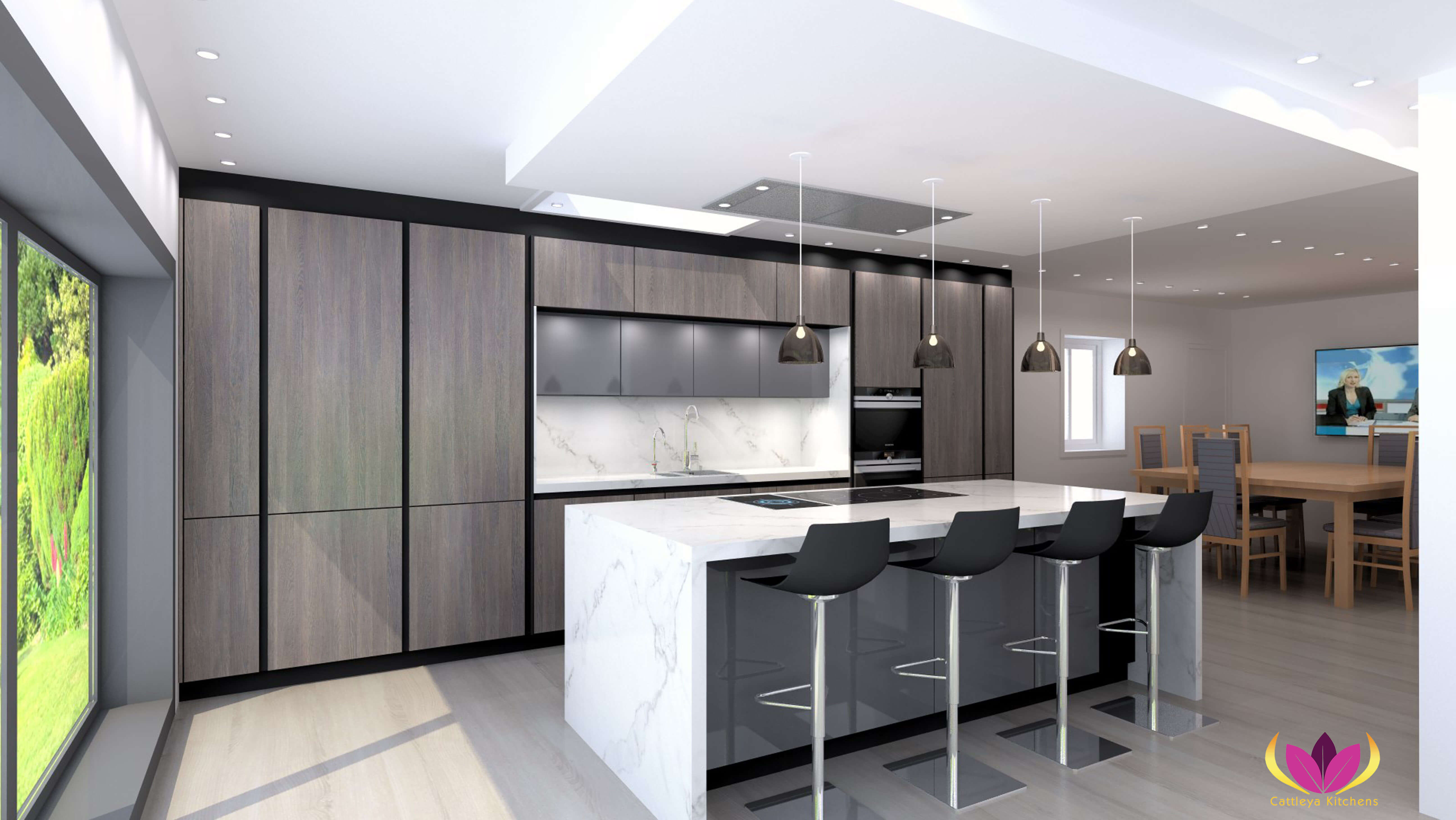 Twickenham Finished Project Kitchen Plan