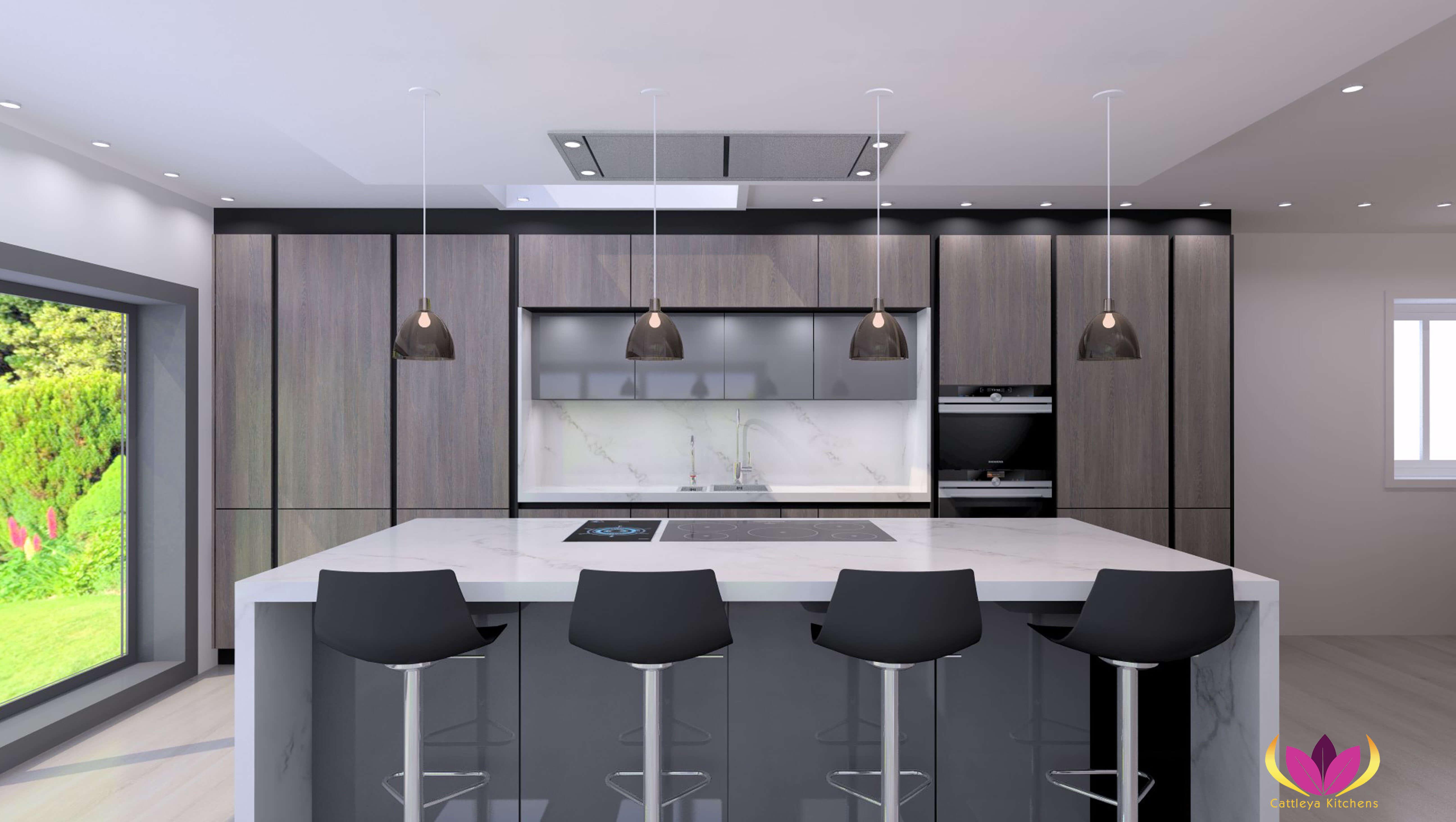 Twickenham Finished Project Kitchen Plan