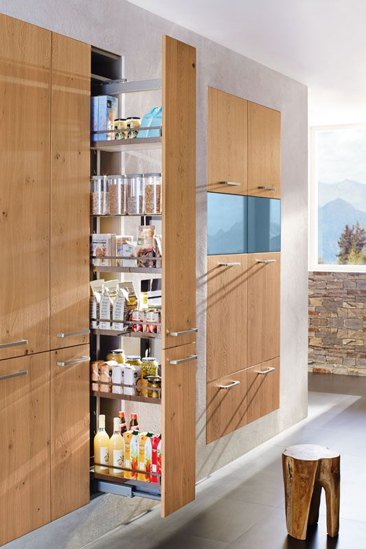 Clever Narrow Shelving