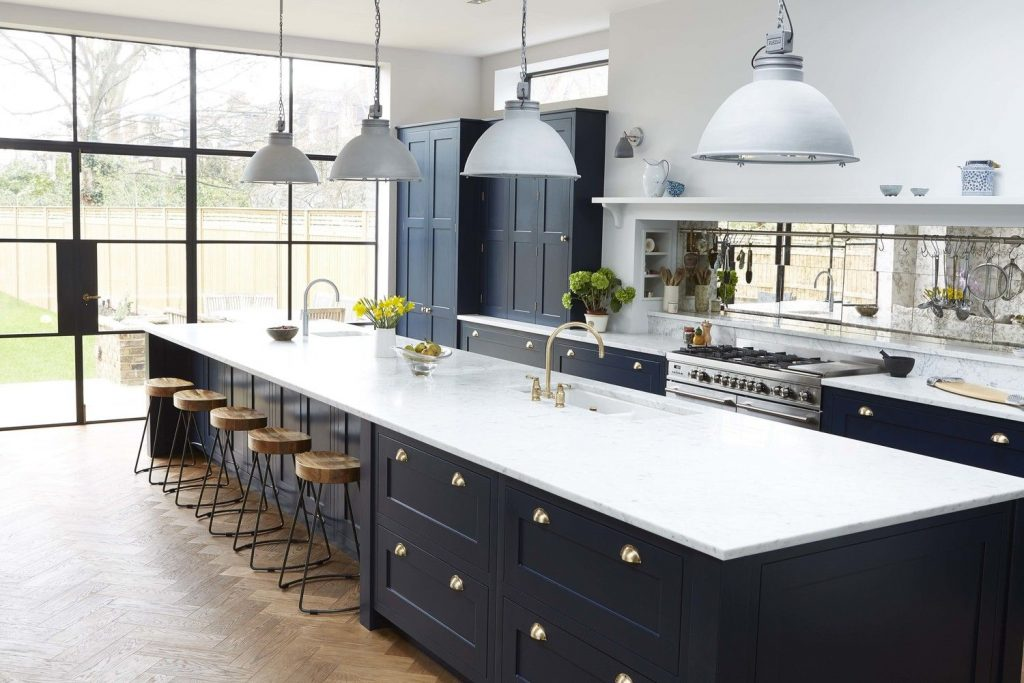 7 Kitchen Cabinet Colors Invading Your Home In 2020 Cattleya Kitchens