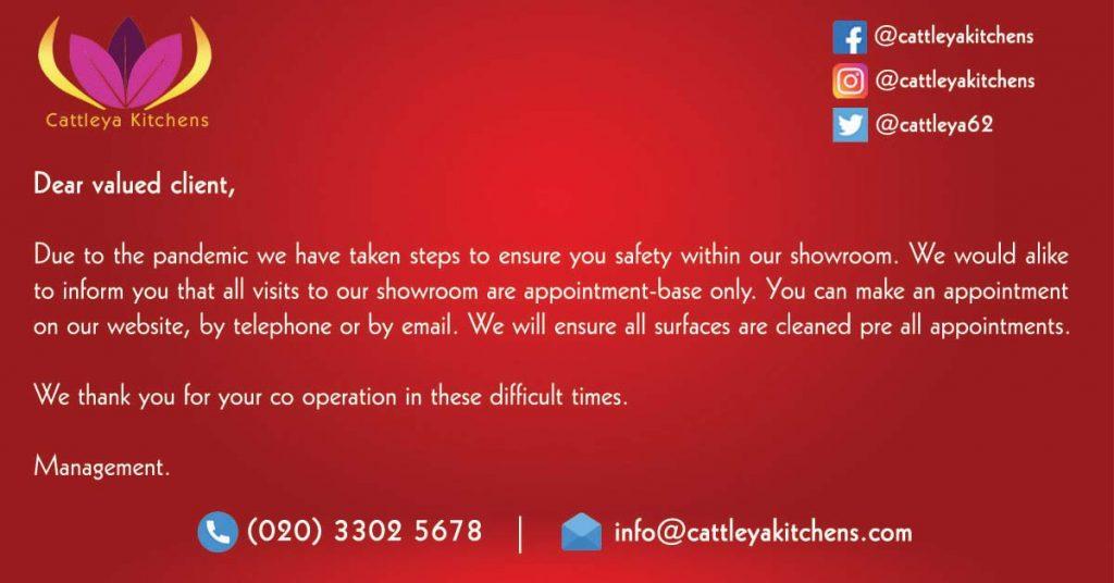 Cattleya Announcement Banner - Covid Update