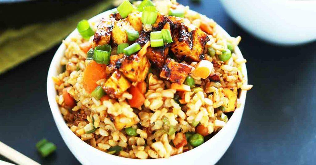 Vegetable Garlic Fried Rice