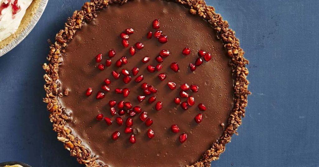 Gluten-free Chocolate Ganache Tart