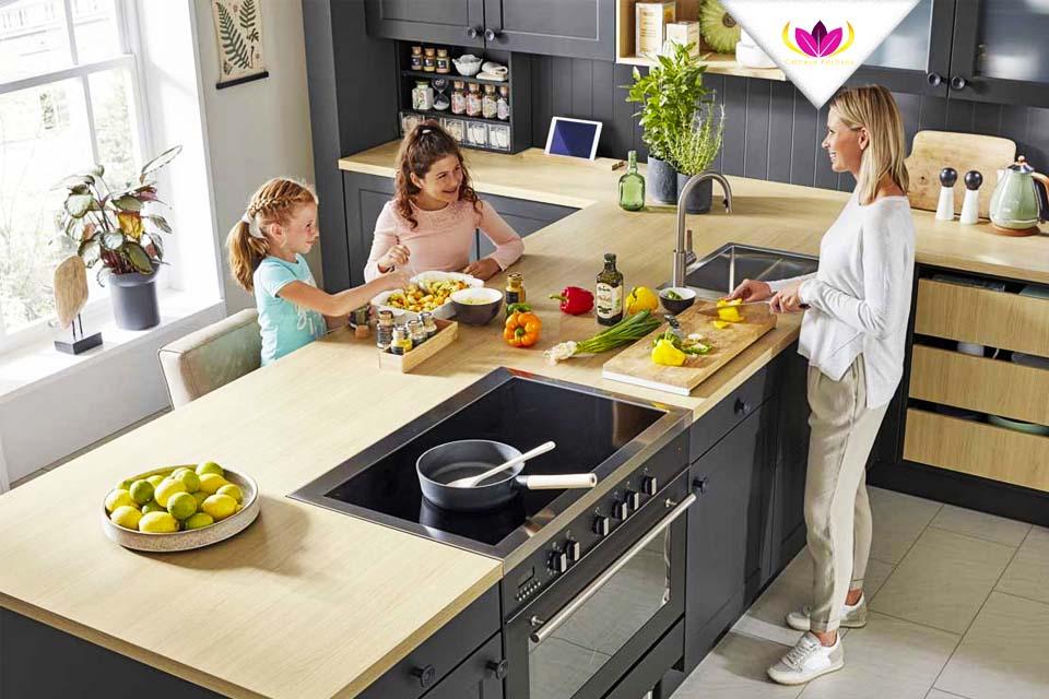 T-shaped Small Kitchen - York-B 5595