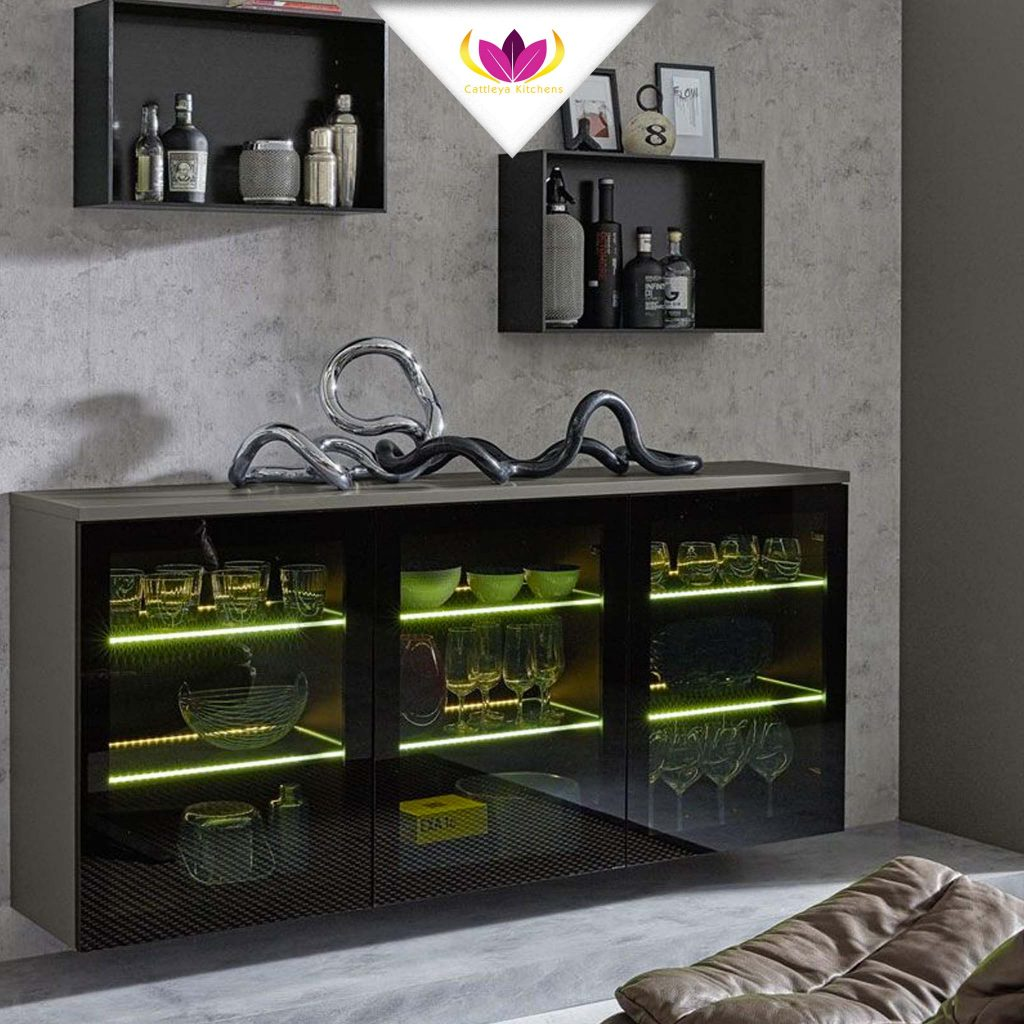 Floating Wall Cabinet - Pur 2661