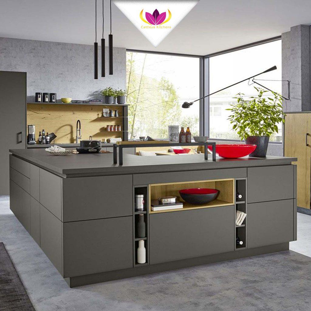 L-Shaped Kitchen Island  - Pur 2661