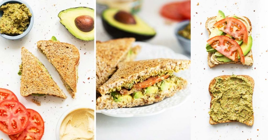 Ultimate 4-Layer Vegan Sandwich
