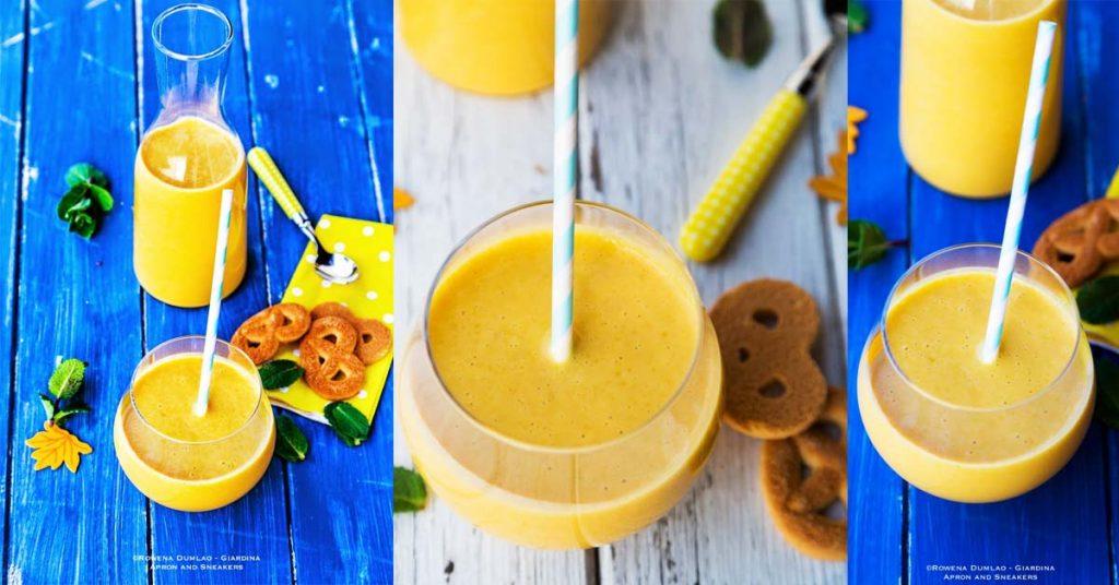 Vegan Mango Almond Milkshake