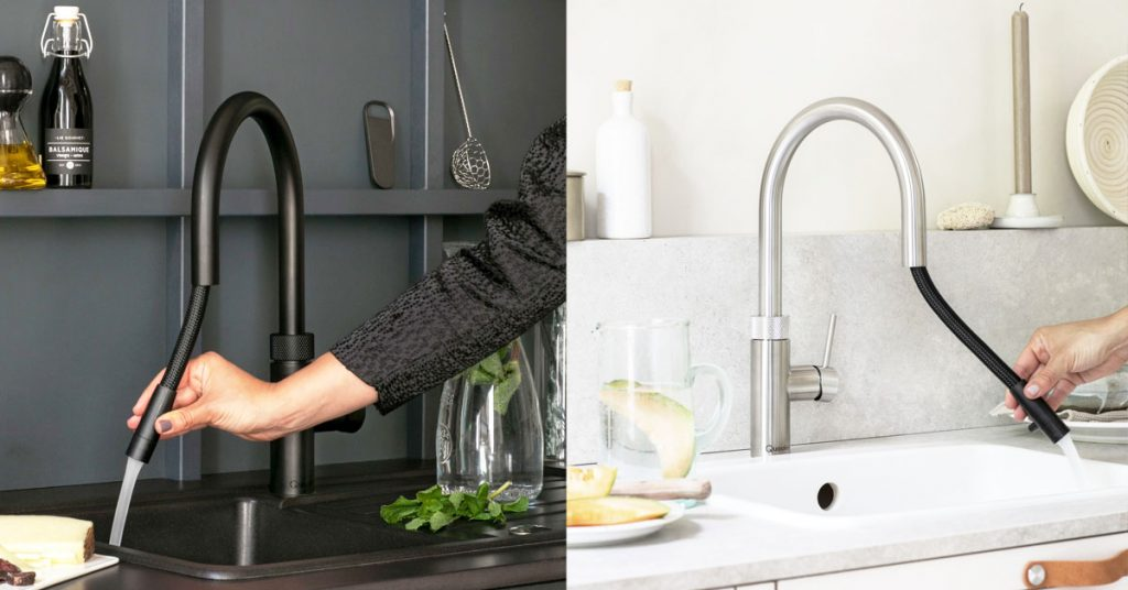 Quooker Flex: All-in-one tap with Flexible Pull out Hose